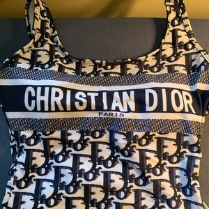 Christian Dior One piece swimsuit